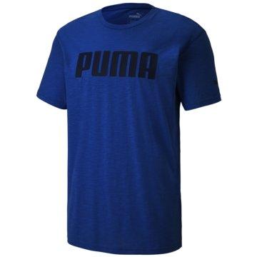 Puma T-Shirts blau