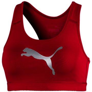 Puma Sport-BHs rot