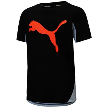 Puma T-ShirtsACTIVE SPORTS CAT GRAPHIC - 581182 001 schwarz