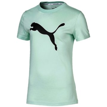 Puma T-ShirtsMODERN SPORTS LOGO TEE G - 581429 032 grün