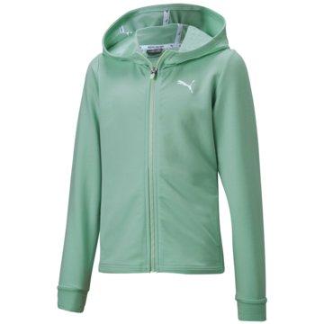 Puma SweatshirtsMODERN SPORTS JACKET G - 581434 032 grün
