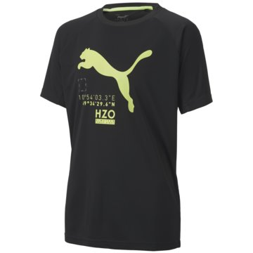 Puma T-ShirtsACTIVE SPORTS POLY TEE B - 583173-001 schwarz