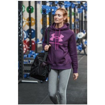 Under Armour SweaterRIVAL FLEECE LOGO HOODIE - 1356318-501 lila