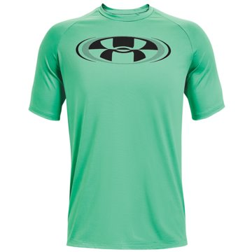 Under Armour ShirtsTECH 2.0 CIRCUIT SS - 1361699-342 grün