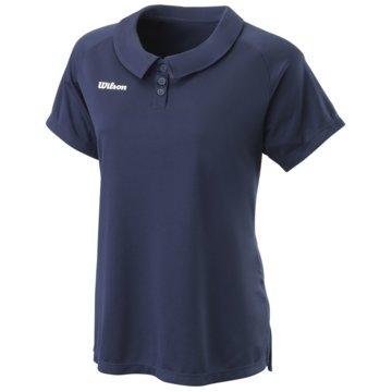 Wilson PoloshirtsW TEAM II POLO TEAM NAVY XS - WRA795103 blau