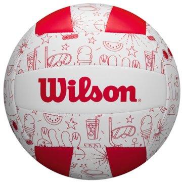Wilson BeachvolleybälleSEASONAL - WTH10320XB rot