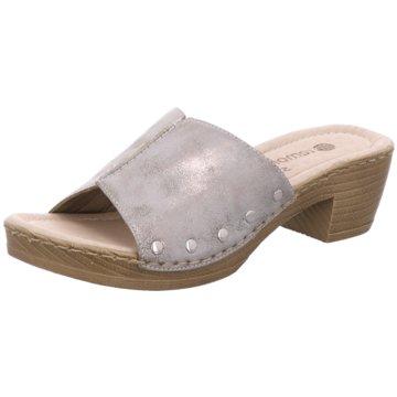Remonte Komfort Pantolette grau