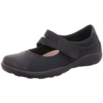 Remonte Komfort Slipper schwarz