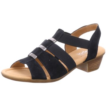 Gabor comfort Komfort Sandale blau