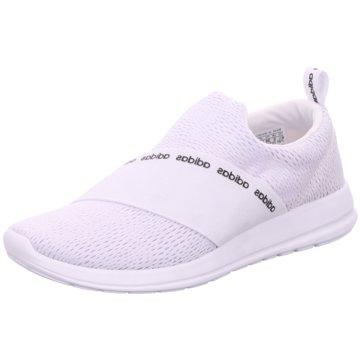 adidas Sportlicher Slipper weiß
