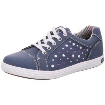 BM Footwear Sneaker Low blau