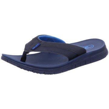 Galop Bade-Zehentrenner blau