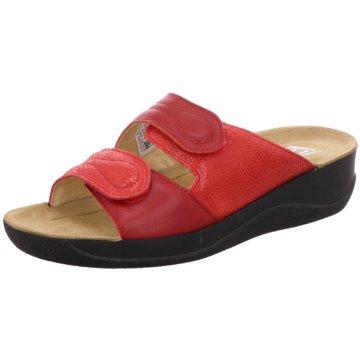 Beck Komfort Pantolette rot