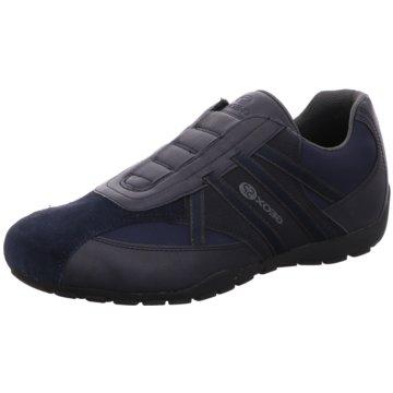 Geox Sportlicher Slipper blau
