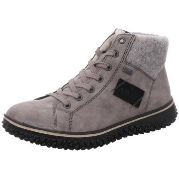 Rieker Komfort Stiefelette grau
