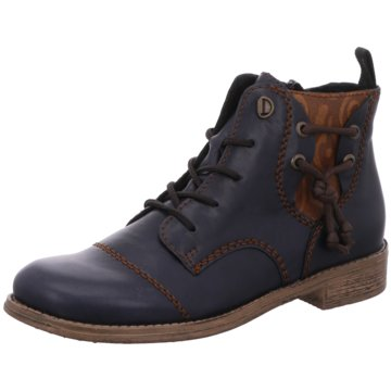 Rieker Ankle Boot blau