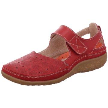 Scandi Komfort Sandale rot