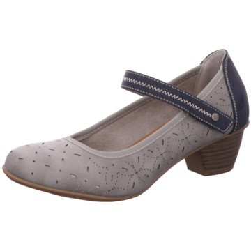 Jane Klain Komfort Pumps grau