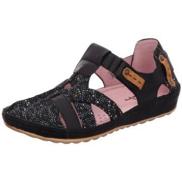 maciejka Komfort Sandale schwarz