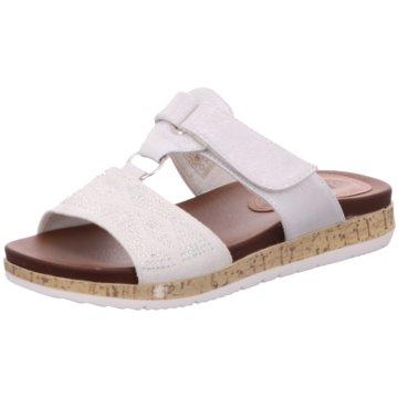 Hengst Footwear Komfort Pantolette weiß
