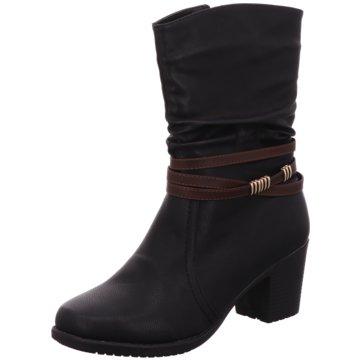 Scandi Komfort Stiefel schwarz