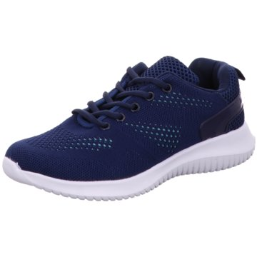 D.T. New York Sneaker Low blau