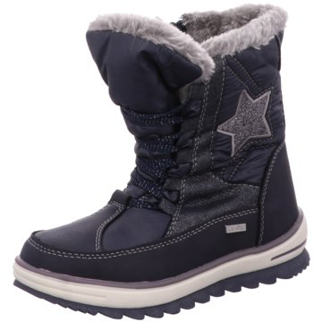 Be Mega Winterstiefel blau