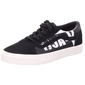 Shoeplanet Sneaker Low schwarz