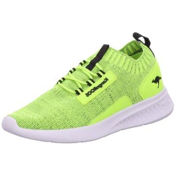 KangaROOS Sneaker Low gelb
