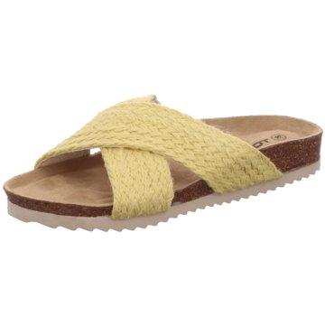 Topway Klassische Pantolette gelb