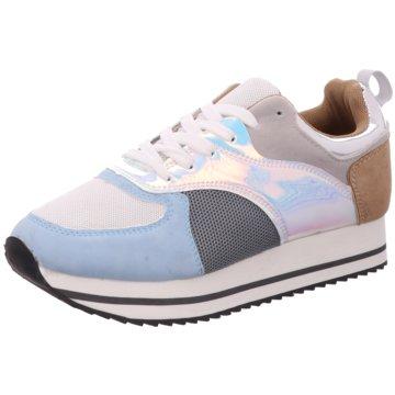 Millie & Co. Plateau Sneaker blau