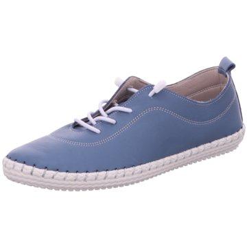 Cosmos Comfort Komfort Schnürschuh blau