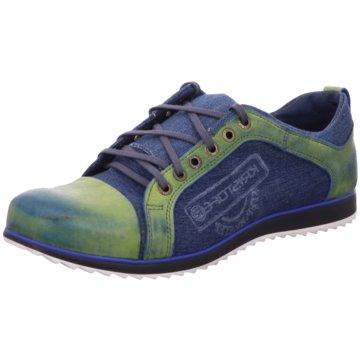 Kristofer Sportlicher Schnürschuh blau