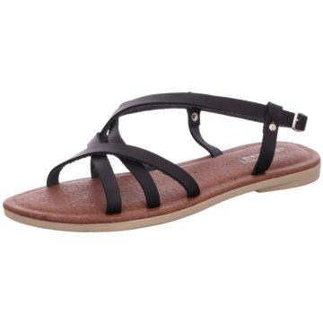 Aeros me Offene Schuhe schwarz