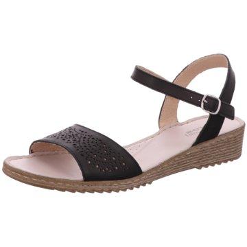 Aeros me Sandale schwarz