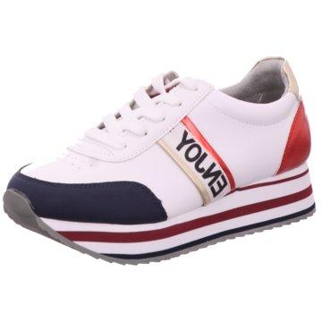 Idana Plateau Sneaker weiß