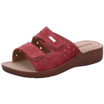 Scandi Komfort Pantolette rot