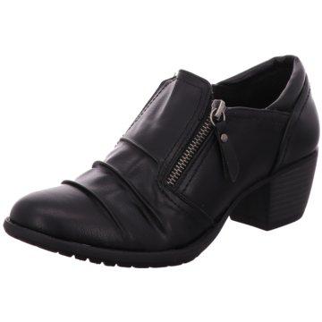 Vimpex Komfort Stiefelette schwarz