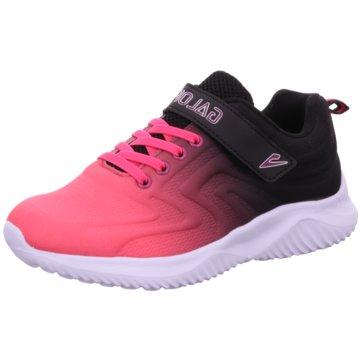 Galop Sportlicher Schnürschuh pink