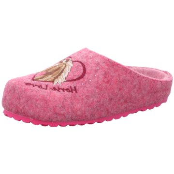 Indigo Hausschuh pink