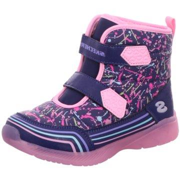 Skechers Klettstiefel rosa