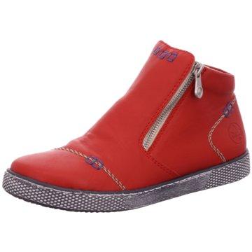 Rieker Komfort Slipper rot