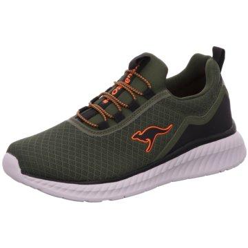 KangaROOS Sneaker Low grün