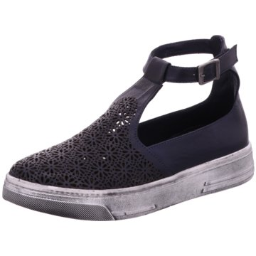 Manitu Sneaker High schwarz