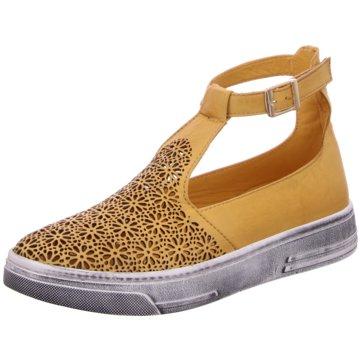 Manitu Sneaker High gelb