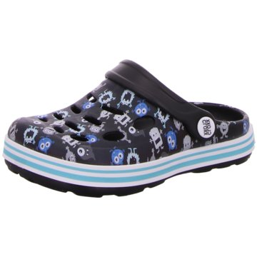 Cloxx Offene Schuhe schwarz