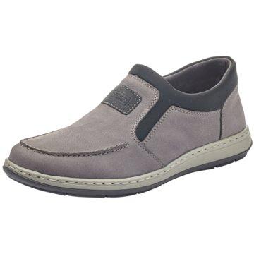 Rieker Komfort Slipper grau