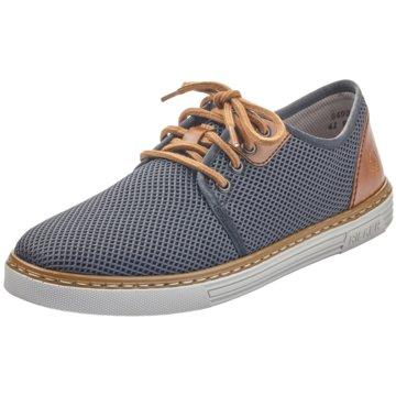 Rieker Sneaker Low blau