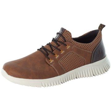 Rieker Sneaker LowECCO BYWAY braun