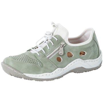 Rieker Komfort Slipper grün